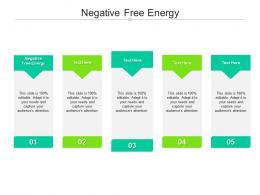 Negative Free Energy Ppt Powerpoint Presentation Infographic Template Slide Download Cpb