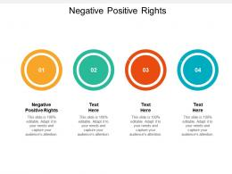 Negative Positive Rights Ppt Powerpoint Presentation Model Slideshow Cpb