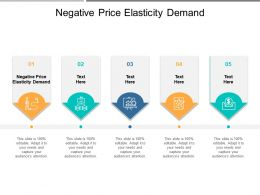 Negative Price Elasticity Demand Ppt Powerpoint Presentation Layouts Good Cpb