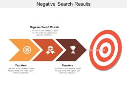 Negative Search Results Ppt Powerpoint Presentation Infographic Template Objects Cpb