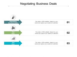 Negotiating Business Deals Ppt Powerpoint Presentation Portfolio Template Cpb
