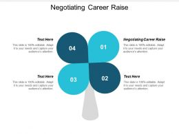 Negotiating Career Raise Ppt Powerpoint Presentation Slides Tips Cpb