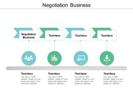 Negotiation Business Ppt Powerpoint Presentation Ideas Slide Cpb