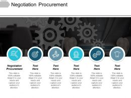 Negotiation Procurement Ppt Powerpoint Presentation File Graphics Template Cpb