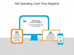 Net Operating Cash Flow Negative Ppt Powerpoint Presentation Infographics Elements Cpb