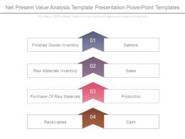 Net Present Value Analysis Template Presentation Powerpoint Templates