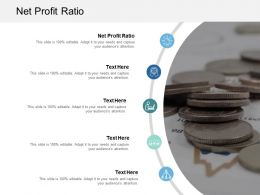 Net Profit Ratio Ppt Powerpoint Presentation File Background Designs Cpb