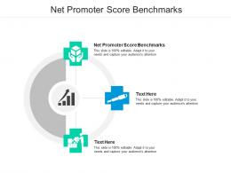 Net Promoter Score Benchmarks Ppt Powerpoint Presentation Outline Show Cpb