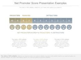 Net Promoter Score Presentation Examples
