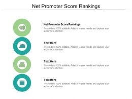 Net Promoter Score Rankings Ppt Powerpoint Presentation Pictures Mockup Cpb