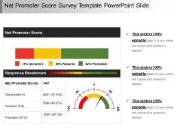 Business dashboard powerpoint slides business intelligence ppt netpromoterscoresurveytemplatepowerpointslideslide01 wajeb Choice Image