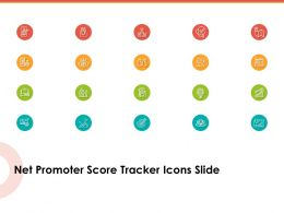Net Promoter Score Tracker Icons Slide Ppt Powerpoint Icon Design Ideas