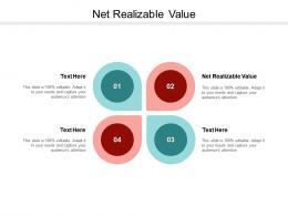 Net Realizable Value Ppt Powerpoint Presentation Visual Aids Portfolio Cpb