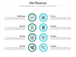 Net Revenue Ppt Powerpoint Presentation Outline Vector Cpb