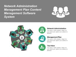 Network Administration Management Plan Content Management Software System Cpb