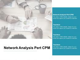 Network Analysis Pert Cpm Ppt Powerpoint Presentation Show Background Cpb