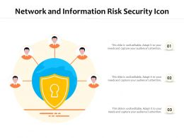 Network And Information Risk Security Icon