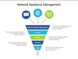 Network Appliance Management Ppt Powerpoint Presentation Gallery Designs Download Cpb