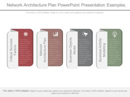 Network Architecture Plan Powerpoint Presentation Examples