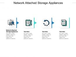 Network Attached Storage Appliances Ppt Powerpoint Presentation Icon Styles Cpb