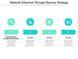 Network Attached Storage Backup Strategy Ppt Powerpoint Presentation Grid Cpb