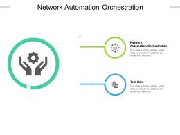 Network Automation Orchestration Ppt Powerpoint Presentation Portfolio Brochure Cpb