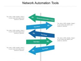 Network Automation Tools Ppt Powerpoint Presentation Portfolio File Formats Cpb
