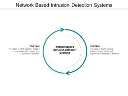 Network Based Intrusion Detection Systems Ppt Powerpoint Structure Cpb