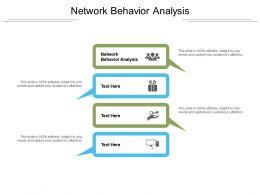 Network Behavior Analysis Ppt Powerpoint Presentation Outline Grid Cpb