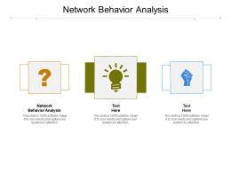 Network Behavior Analysis Ppt Powerpoint Presentation Pictures Slide Download Cpb