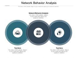 Network Behavior Analysis Ppt Powerpoint Presentation Summary Designs Cpb