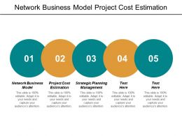 Network Business Model Project Cost Estimation Strategic Planning Management Cpb