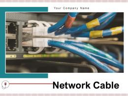 Network Cable Server Electronic Computer Connectivity Internet