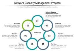 Network Capacity Management Process Ppt Powerpoint Presentation File Styles Cpb