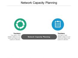 Network Capacity Planning Ppt Powerpoint Presentation Outline Graphic Tips Cpb