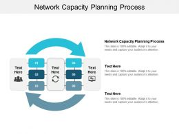 Network Capacity Planning Process Ppt Powerpoint Presentation Outline Demonstration Cpb