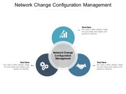 Network Change Configuration Management Ppt Powerpoint Presentation Icon Samples Cpb