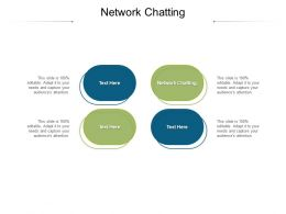 Network Chatting Ppt Powerpoint Presentation File Vector Cpb
