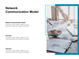 Network Communication Model Ppt Powerpoint Presentation Ideas Images Cpb
