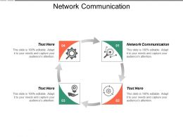 Network Communication Ppt Powerpoint Presentation Pictures Template Cpb