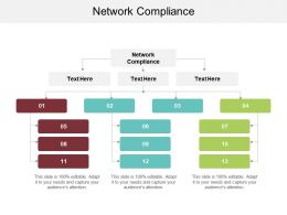 Network Compliance Ppt Powerpoint Presentation Styles Portrait Cpb