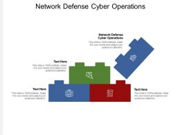 Network Defense Cyber Operations Ppt Powerpoint Presentation Ideas Shapes Cpb