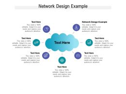 Network Design Example Ppt Powerpoint Presentation Summary Examples Cpb