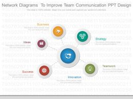 Network Diagrams To Improve Team Communication Ppt Design