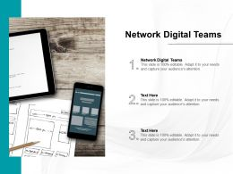 Network Digital Teams Ppt Powerpoint Presentation Outline Topics Cpb