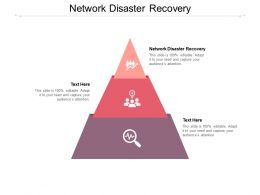 Network Disaster Recovery Ppt Powerpoint Presentation Visuals Cpb
