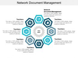 Network Document Management Ppt Powerpoint Presentation Infographics Diagrams Cpb