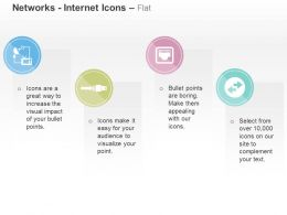 Network Ethernet Cable Transfer Ppt Icons Graphics