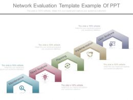 Network Evaluation Template Example Of Ppt