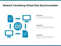Network Facilitating Global Data Synchronization